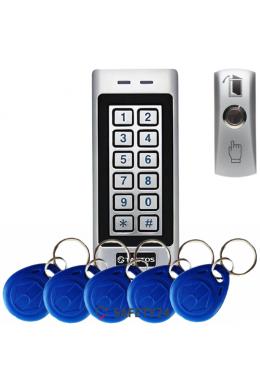 СКУД система контроля и управления доступом Tantos EM Metal кодовая панель